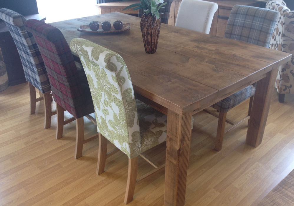 The Authentic Waxed 4 Plank Dining Table