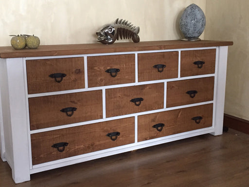 The Authentic Painted Large Multi-Drawer Chest