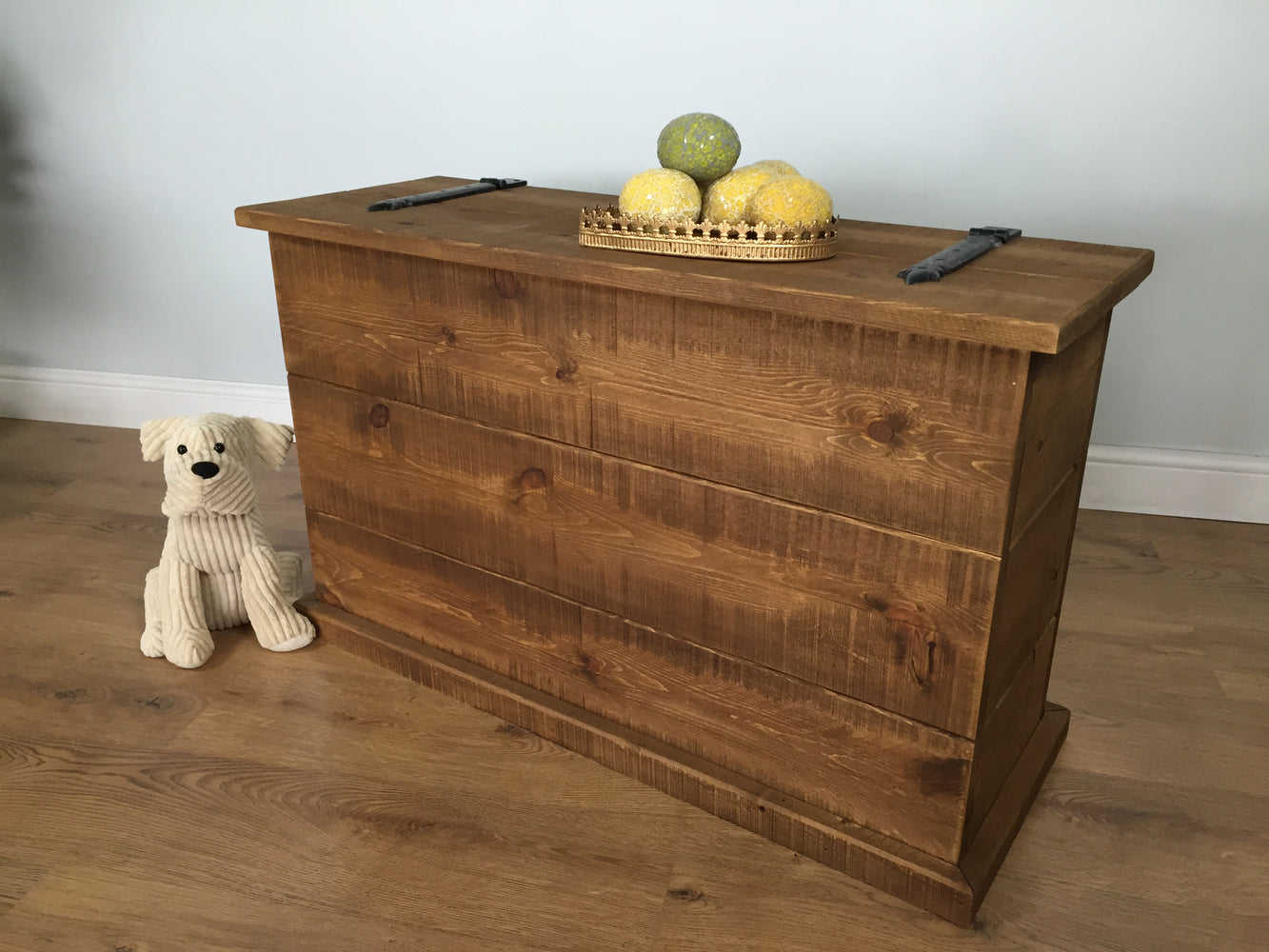 The Authentic Waxed Tall Blanket Box