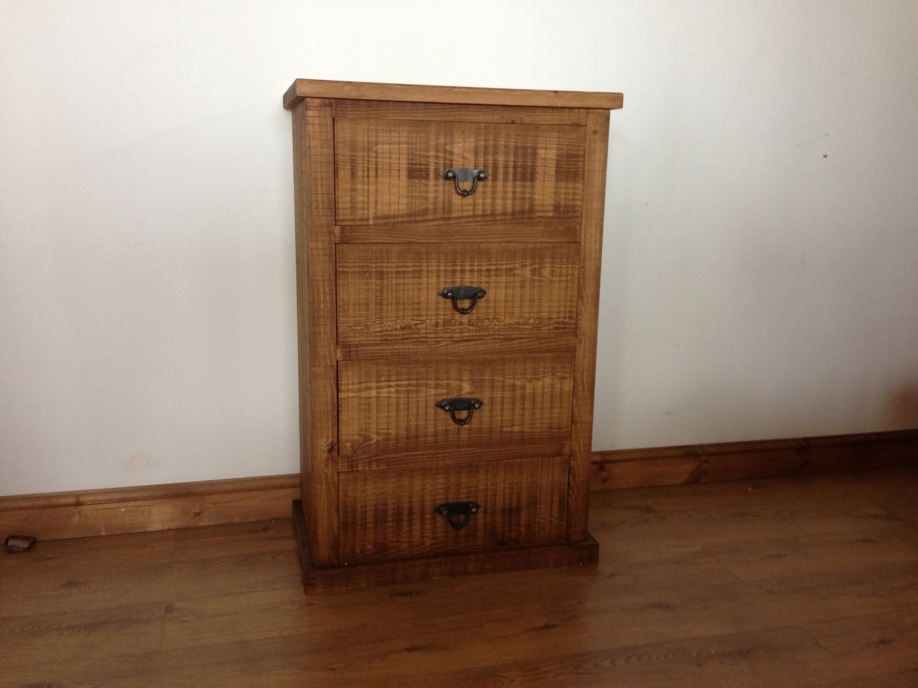 The Authentic Waxed Four-Drawer Chest
