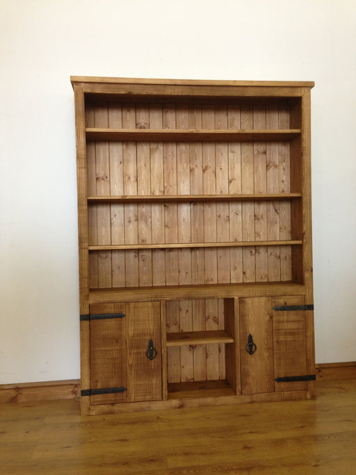 The Authentic Waxed Large Open Storage Bookcase