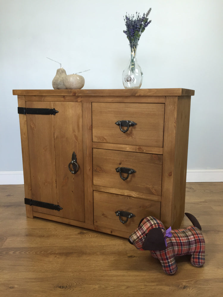 The Authentic Waxed Storage Sideboard