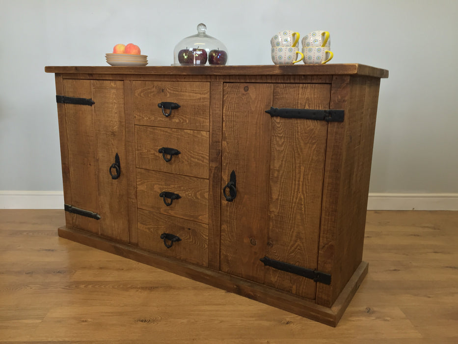 The Authentic Waxed Large Sideboard