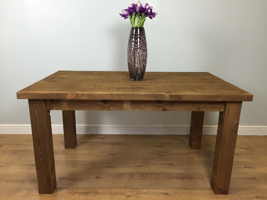 The Authentic Waxed Plank Dining Table