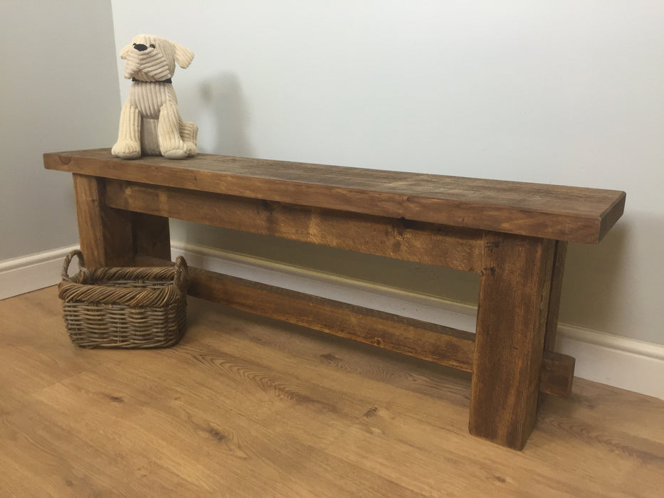 The Authentic Waxed Bench