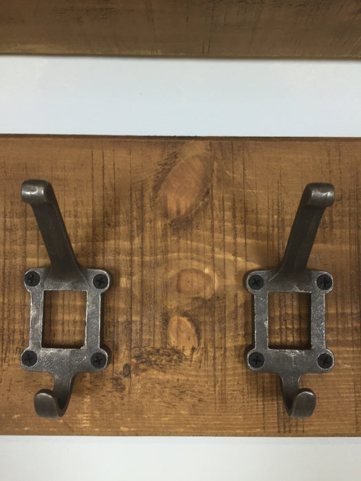 The Authentic Waxed Coat Rack