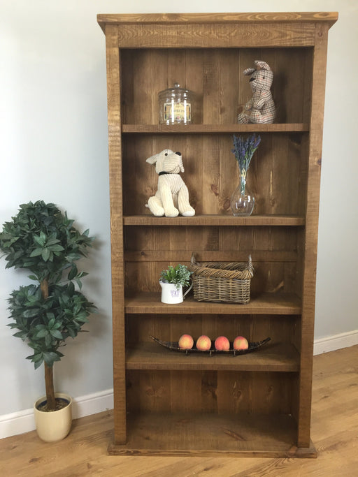 The Authentic Waxed Open Bookcase