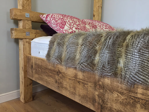 The Artisan Waxed Lumber Bed