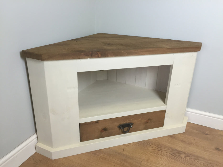 The Authentic Painted Corner TV Unit