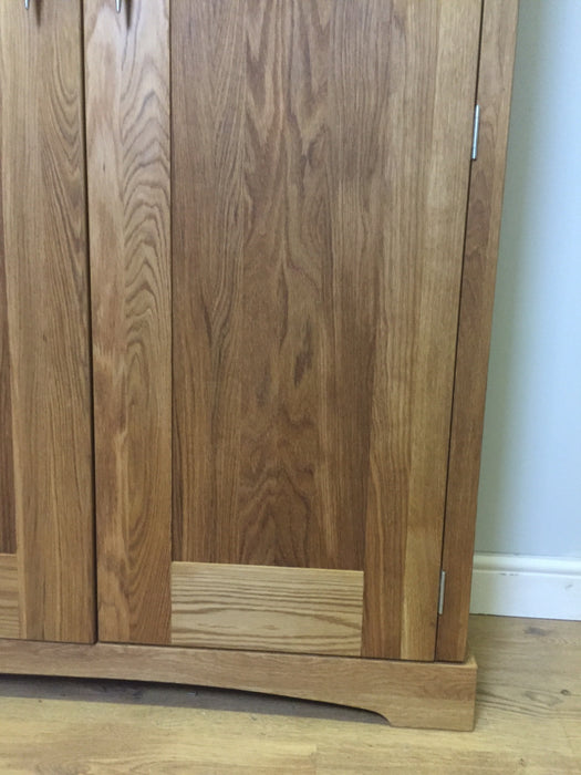 The Quercus Oak Storage Cabinet