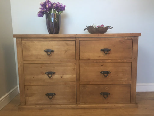 The Authentic Smooth Waxed Chest Of Drawers