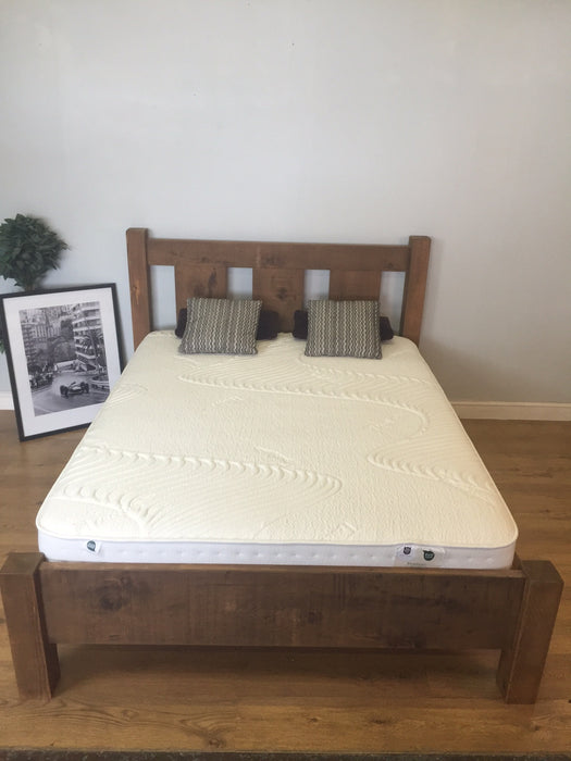 The Authentic Waxed Slatted Bed