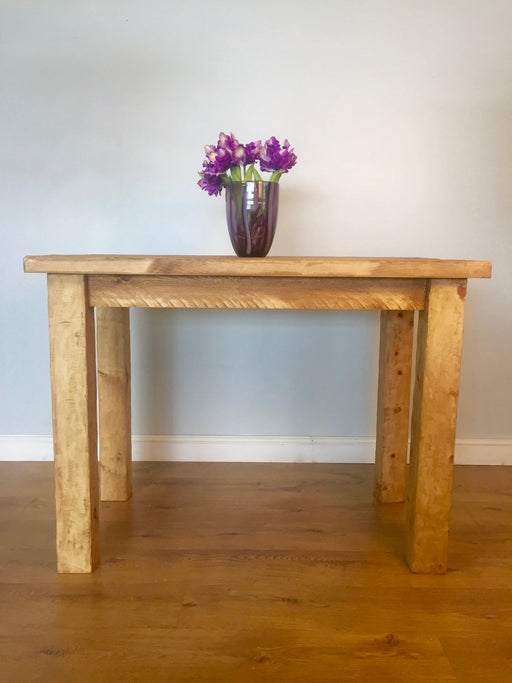 The Artisan Waxed Bar Table