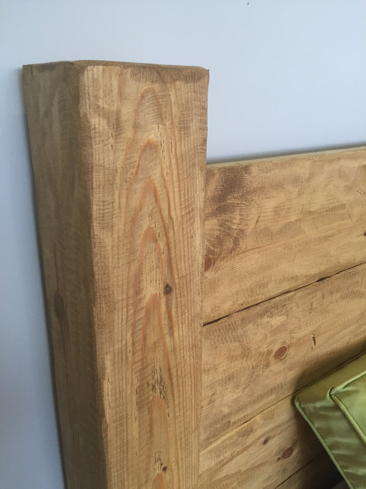 The Artisan Waxed Plank Bed