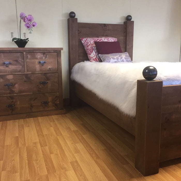 The Authentic Waxed Cannonball Bed