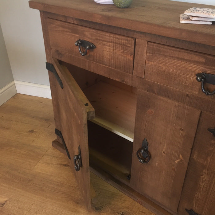 The Authentic Waxed Medium Sideboard