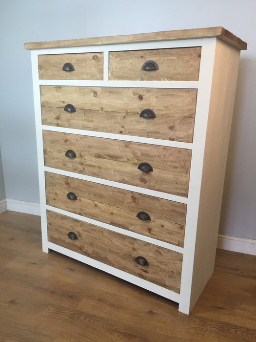 The Artisan Painted Tall Chest Of Drawers