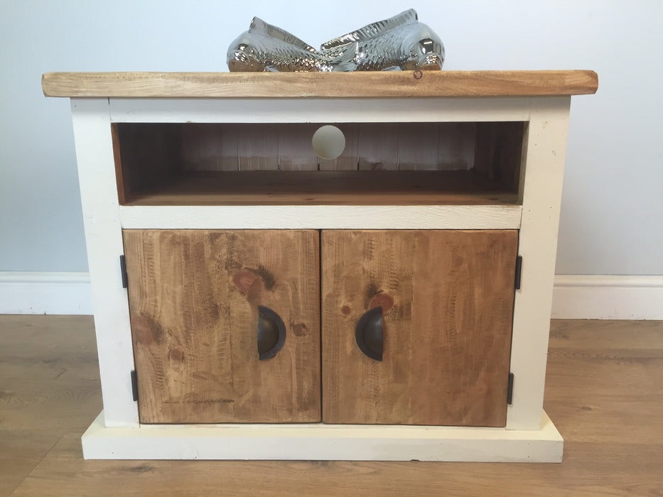 The Authentic Painted TV Cabinet