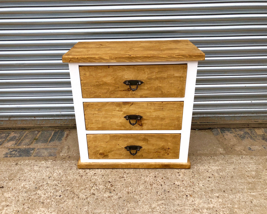 The Artisan Painted 3-Drawer Chest