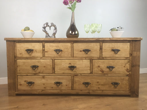 The Artisan Waxed Large Multi-Drawer Chest