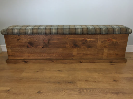 The Authentic Waxed Plank Storage Bench