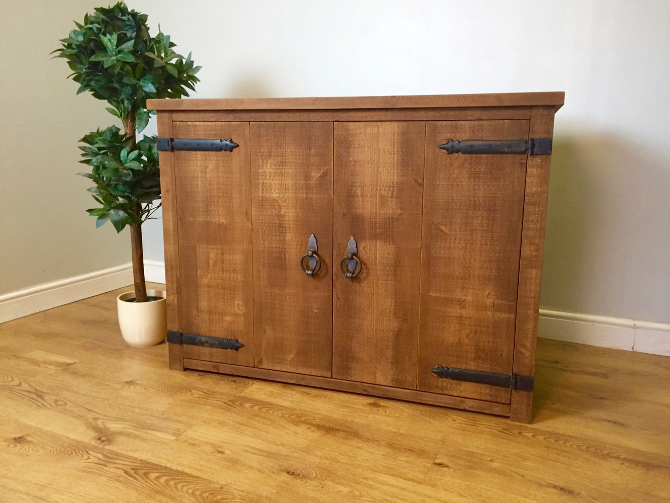 The Authentic Waxed Two-Door Sideboard