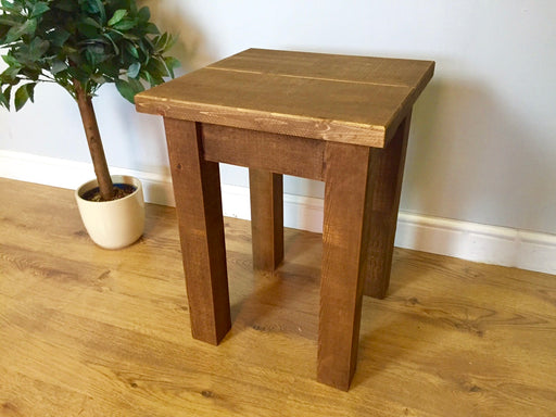 The Authentic Waxed Lamp Table