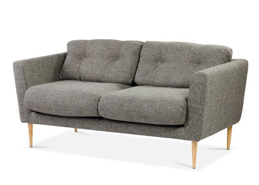 Napier 2-Seater Harris Tweed Vintage Flint Sofa