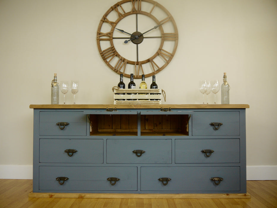The Artisan Painted Large Multi-Drawer Sideboard