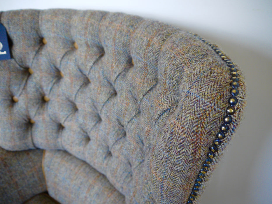 The Harris Tweed Orkney Chair
