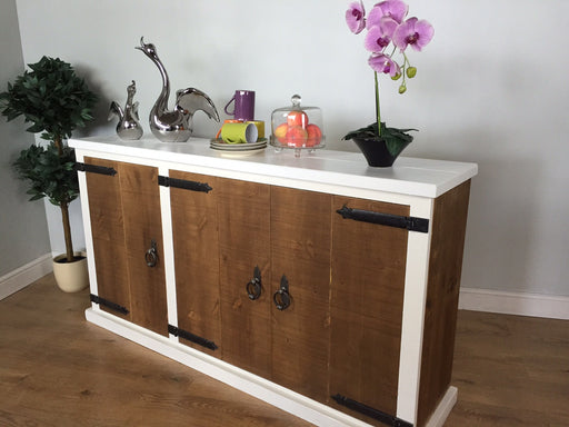 The Authentic Painted Large Three-Door Sideboard