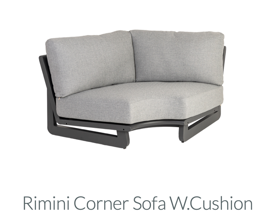 Rimini - Corner Sofa w.cushion
