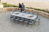 Rimini - Extending Table 2320mm/3000mm x 1000mm with Ceramic Glass