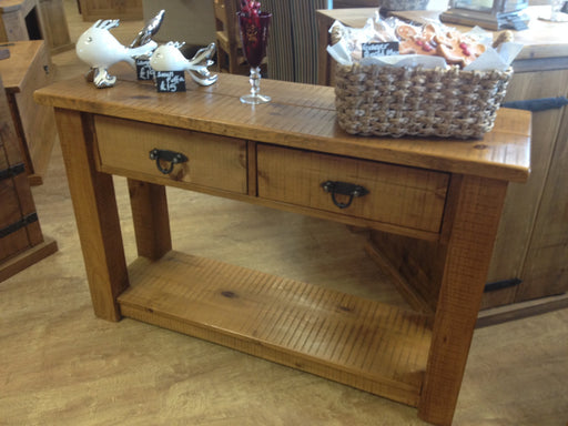 The Authentic Waxed Console Table