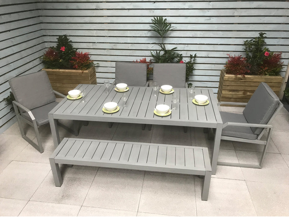 Alarna Table and Chairs Set