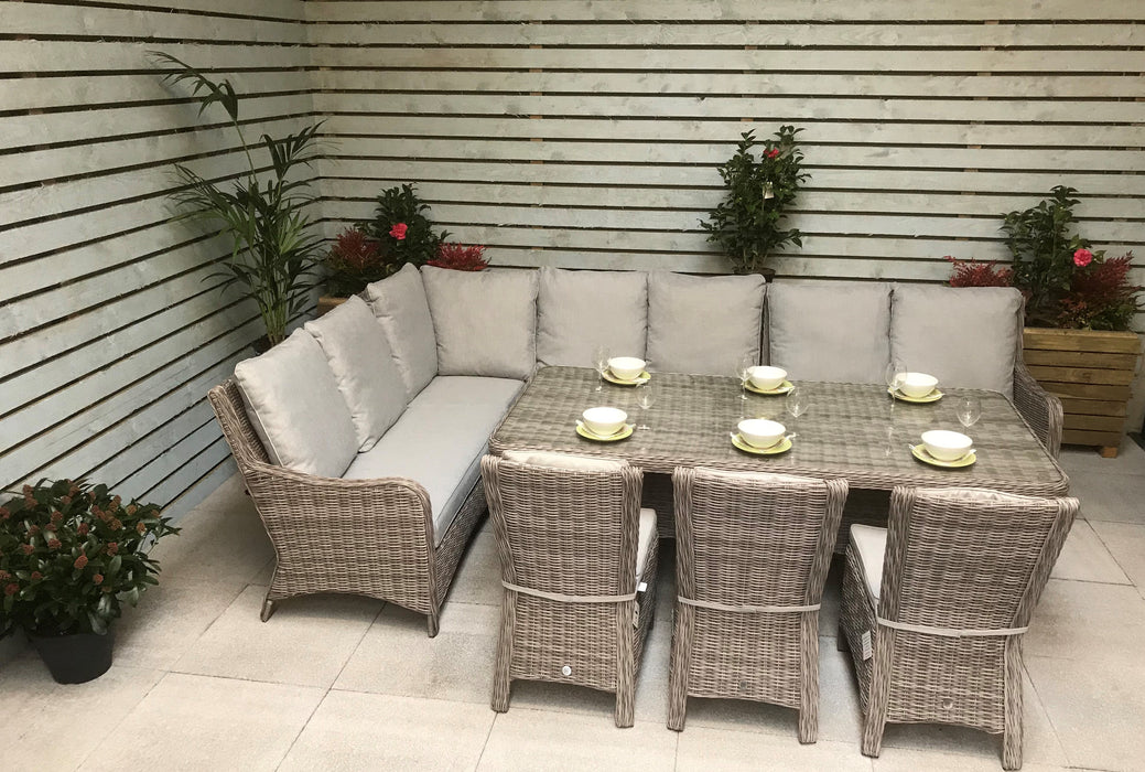 Alexandra Large Sofa And Dining Set - SOLD OUT