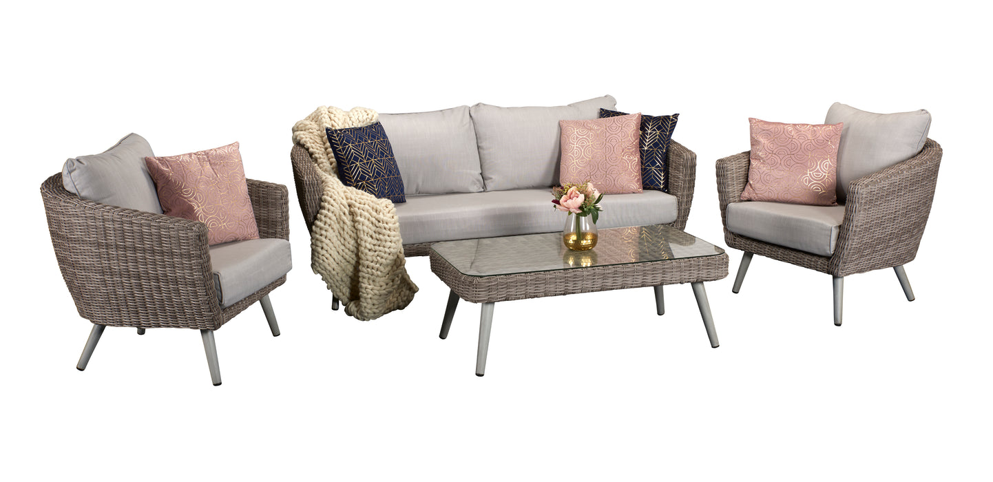 DANIELLE SOFA AND TUB CHAIR LOUNGE SET - LAST X1 SET - BUY NOW