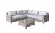 Helena Corner Sofa Set in Grey -  FURTHER REDUCTION - LAST SET x1 ONLY £895