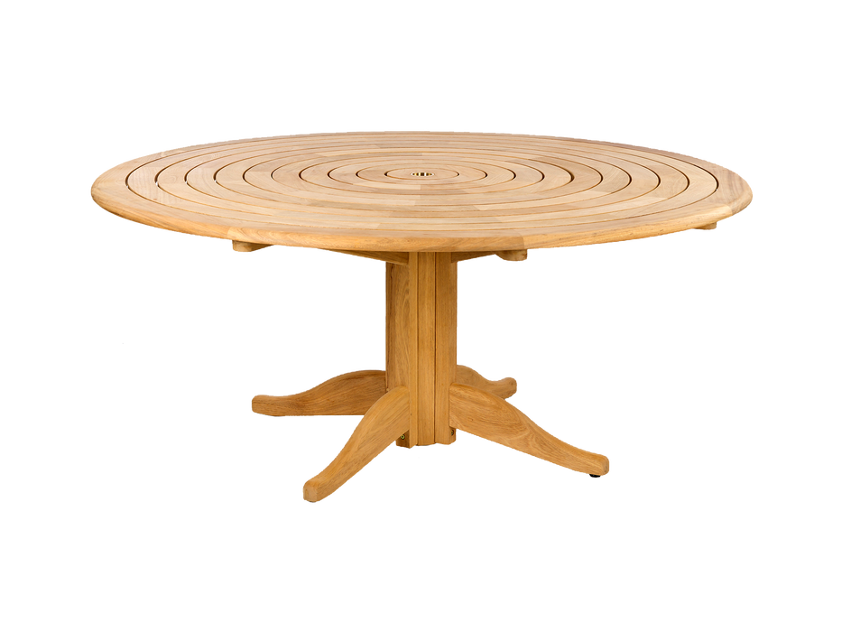 Roble Pedestal Table 1750mm