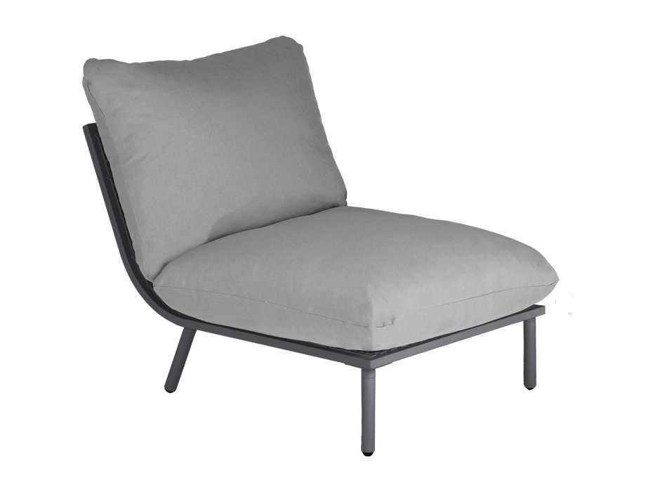 Alexander Rose Beach Lounge Modular 5 Seat Corner Set - IN STOCK AND READY FOR DELIVERY