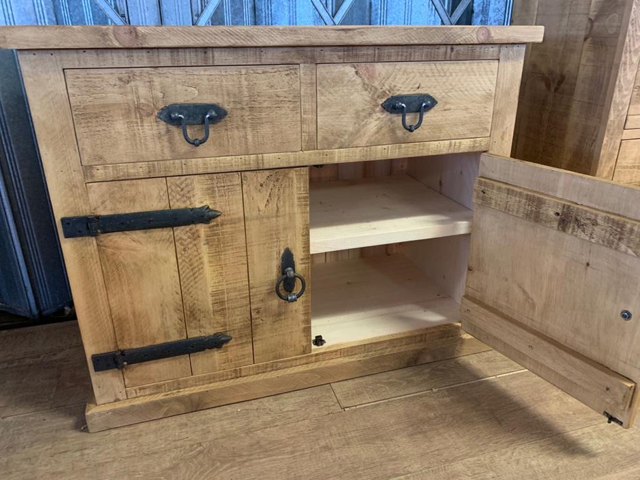 The Authentic Light-Waxed Medium Sideboard