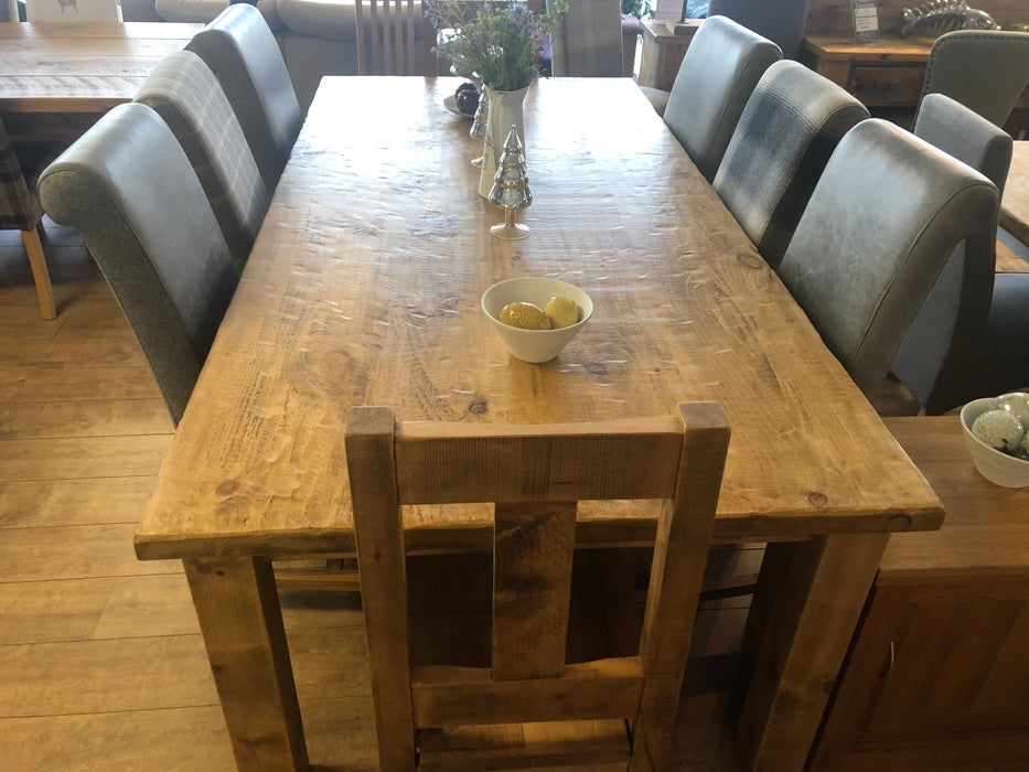 The Artisan Waxed 4 Plank Dining Table