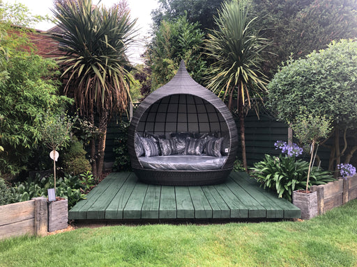 PEARL DAYBED  - NEW FOR 2021 - EARLY BIRD OFFER - Dark Grey or Natural - IN STOCK