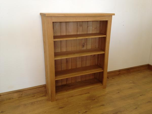The Quercus Oak Low Bookcase