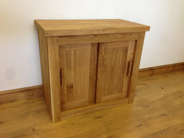 The Quercus Oak Sliding Sideboard