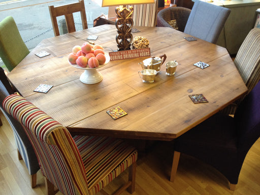 The Authentic Waxed Octagonal Table