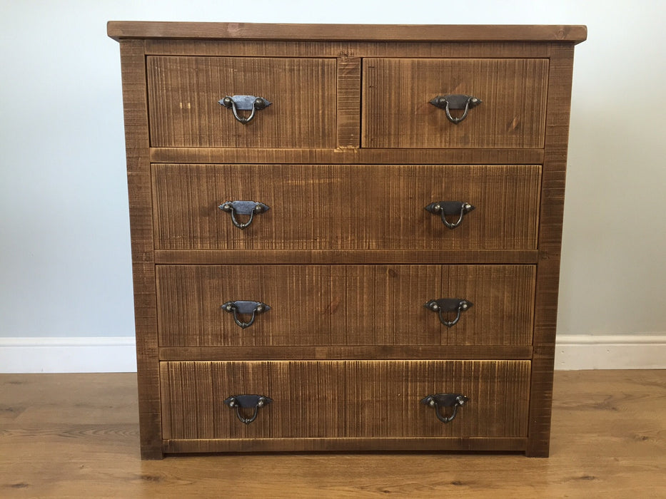 The Authentic Waxed Medium Chest of Drawers