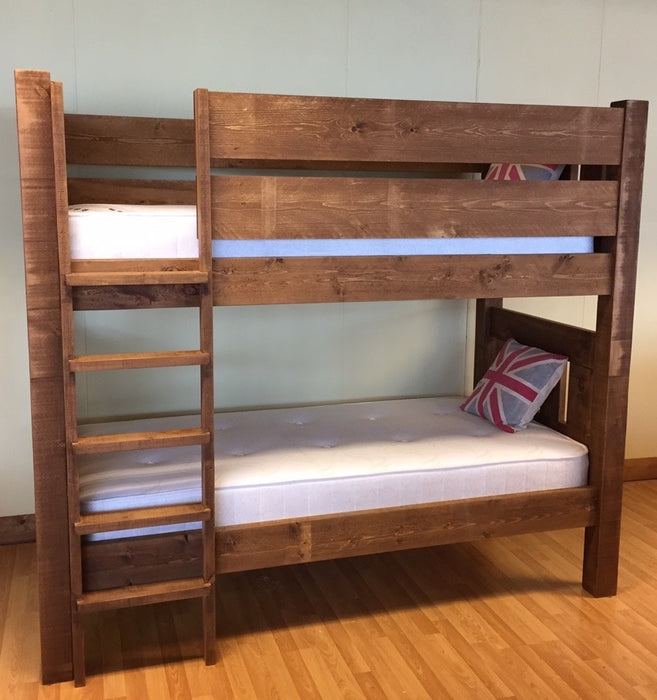 The Authentic Waxed Bunk Bed