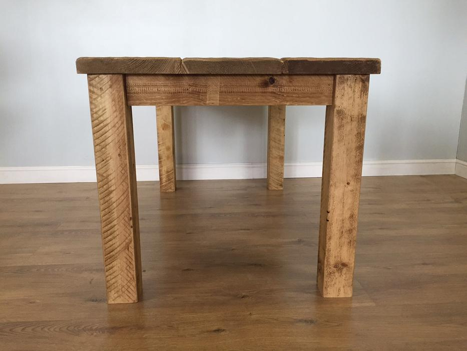 The Authentic Light Waxed Plank Dining Table