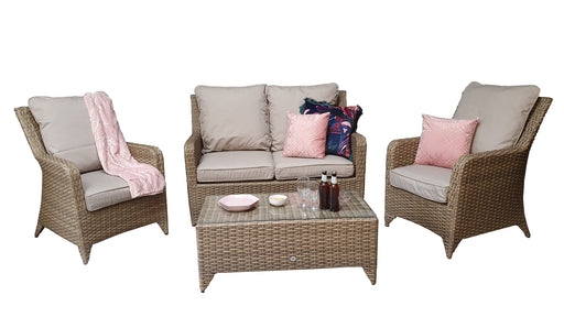 Sarah 4 Seat Sofa Set - IN STOCK and DELIVERY